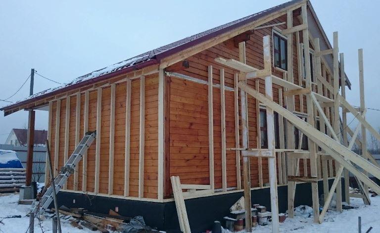 утеплить стены деревянного дома